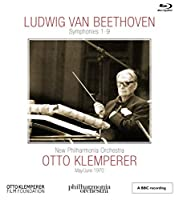 ベートーヴェン : 交響曲全集 (Ludwig Van Beethoven : Symphonies 1-9 / New Philharmonia Orchestra | Otto Klemperer [May/June 1970]) [5Blu-ray] [Import] [日本語解説書付]