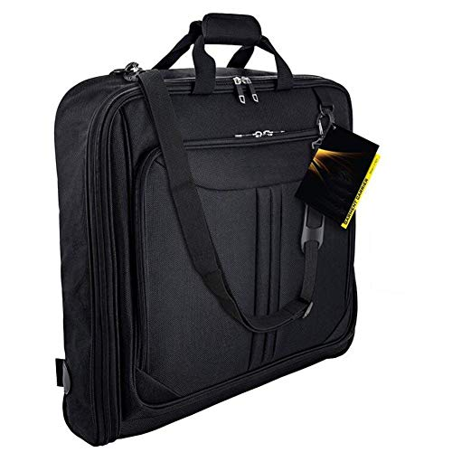 KEIBODETRD Anzughülle Tragetasche Multifunktionale wasserdichte staubdichte atmungsaktive Kleidungshülle Reisetasche zum Falten für Anzüge Smoking Kleider