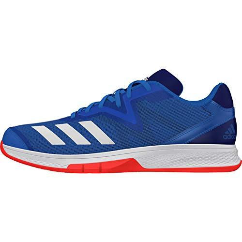 adidas Jungen Counterblast Exadic Handballschuhe, Blau (Azubri/Ftwbla/Rojsol 000), 37 1/3 EU