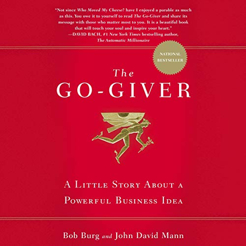 The Go-Giver audiobook cover art