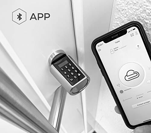 Elektronisches Türschloss Nuki Combo (Smart Lock und Bridge) – Elektronisches Türschloss – NENOKI Smartlock