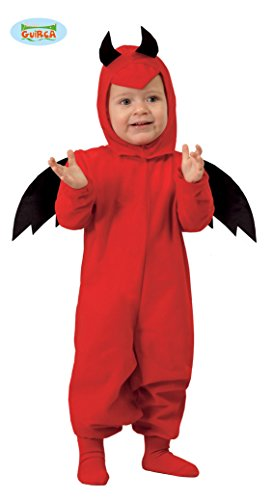 Guirca SL.- Vestido Diabletto 1-12 Meses, Color Rojo, 2_10006833