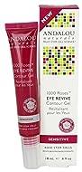 Andalou Naturals 1000 Roses Eye Revive Contour Gel, 18ml