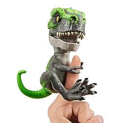 5. WowWee Untamed T-Rex Tracker (Black/Green) by Fingerlings