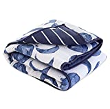 Reversible Quilt, Baby and Toddler Nursery Blanket, Organic Cotton Shell & Polyester Fill