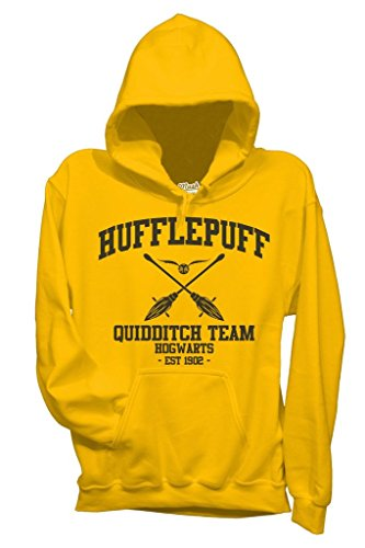 MUSH Sweatshirt Hufflepuff Quidditch Harry Potter - Film by Dress Your Style - Baby-S-Gelb