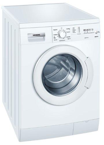 Siemens iQ300 WM14E164 - Lavadora de carga frontal (A+ A, 1400 rpm, 6 kg), color blanco