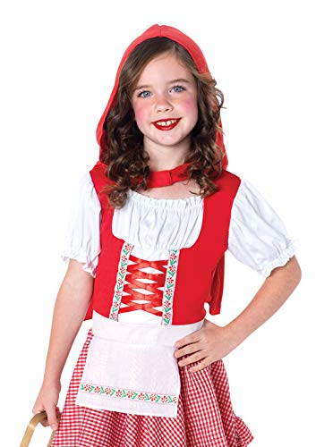 Leg Avenue C48120 - Cappuccetto Rosso Costume Set, Formato XS, Rosso / Bianco