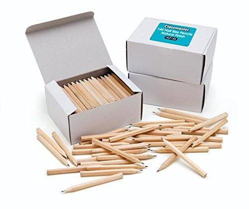 Bleistift, HB, halbe Länge