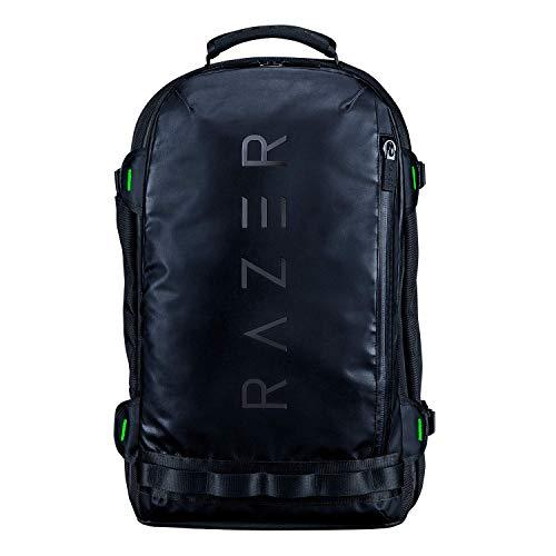 Razer Rogue V3 Backpack Edizione Nero Zaino da Viaggio Compatto, Scomparto Dedicato per Portatili da 17 Pollici, Esterno in Poliestere Antipiega e Resistente alle Abrasioni