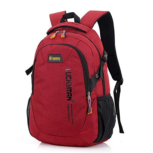 GYHJG Backpack Student School Bag Leisure College Style Men And Women Backpack Computer Bag Outdoor Travel Bag