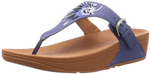 FITFLOP K21 Women's The Skinny Toe-Thong, Indian Blue - 11 M US