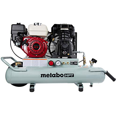 Hitachi EC2610E Gas-Powered Wheeled Air Compressor