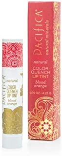 Pacifica Perfumes Inc Natural Color Quench Lip Tint Blood Orange