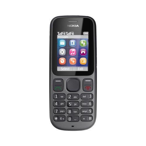 Nokia 101 Dual-SIM Handy (4.6 cm (1.8 Zoll) TFT-Display, vorinstallierte Spiele) schwarz