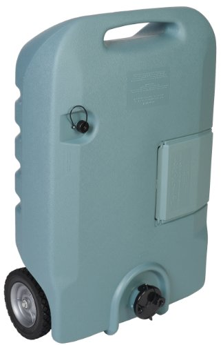 Tote-N-Stor 25608 Portable Waste Transport - 25 Gallon Capacity , Gray