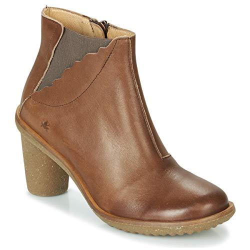 EL NATURALISTA Trivia Botines/Low Boots Femmes Marrón Botines