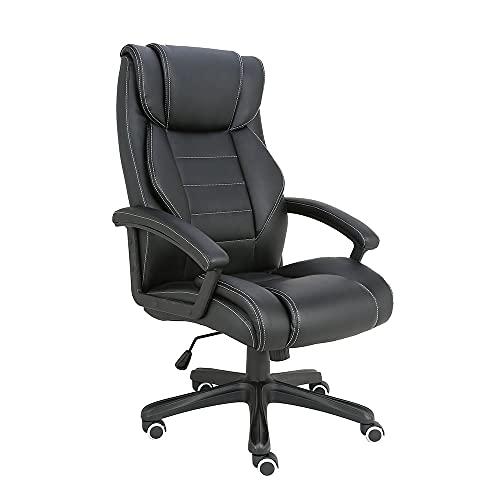 Cadeira de Escritório Presidente Preto GA202 - Multilaser