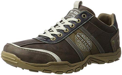MUSTANG - Herren Halbschuhe - Braun Schuhe in Übergrößen, Größe:48