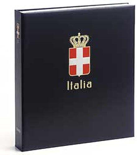 DAVO 6141 Luxus Briefmarkenalbum Italien Roy. I