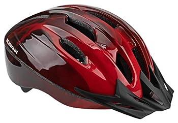 Schwinn Intercept Bike Helmet Easy Adjustable Dial For Custom Fit Adult Red
