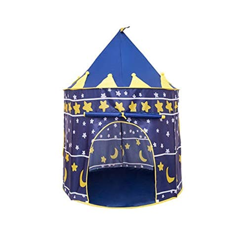 Humanity Intérieur Jeux for Enfants Tente House Bed Princess Girl Toy Play House Kid House Bed séparation Artifact (Color : Sky Blue)