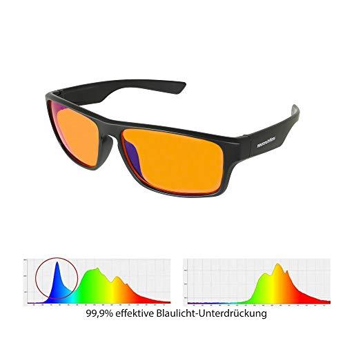 L-Care Blueblocker Brille | Anti Blaulicht-Filter | Auch ideal als Gaming- und Computerbrille | 99,9% Blaulicht-Schutz
