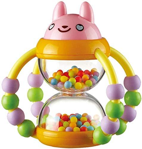 Mopoq Sanduhr Rattle, Neugeborene Baby-Geklapper-Spielzeug - Flexible Übung Fingers - Baby-Spielzeug for Männer und Frauen Smart-Spielzeug