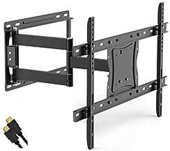 Onn Full Motion Articulating Tilt/Swivel Universal Wall Mount Kit for 19