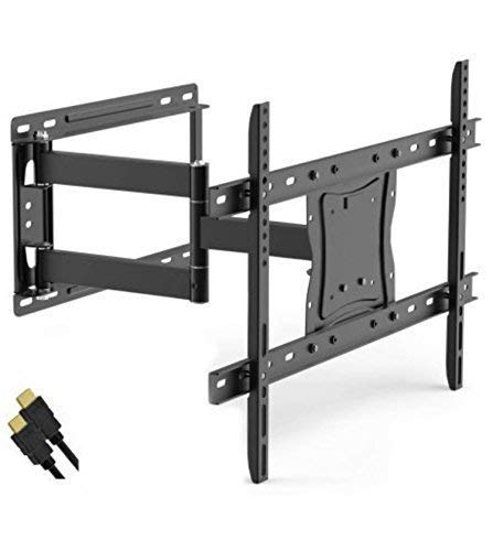 "Onn Full Motion Articulating Tilt/Swivel Universal Wall Mount Kit for 19"" to 84"" TVs with HDMI Cable (ONA16TM014E)"