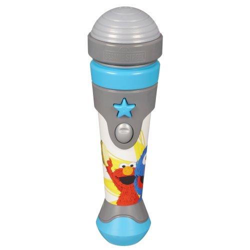 Sesame Street Hasbro – 31950 Rue Sesame – Let's Rock! Microphone Grover (Version Anglaise)