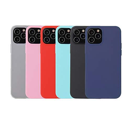Oureidoo 6X Funda iPhone 12 Mini 2020, Carcasa en Silicona - [...