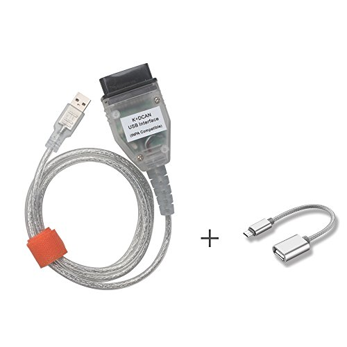 Yueku INPA K+DCAN Ediabas Diagnostic Cable Compatible with BMW E Serials Work with NCS Coding Winkfp Tool32 Programing