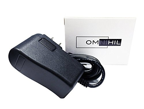 Omnihil 8 Feet AC/DC Power Adapter Compatible with Octane Fitness Elliptical Cross Trainer Q37ci Q37c Q37e Q37ce