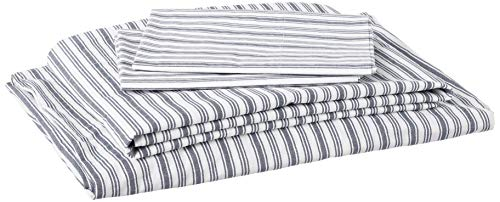 Nautica - Percale Collection - Bed Sheet Set - 100% Cotton, Crisp & Cool, Lightweight &...