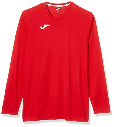 Joma 100092.6 T-Shirt Femme, Rouge, FR (Taille Fabricant : XL)