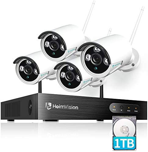 HeimVision HM241A 1080P Wireless Security Camera System with 1TB Hard Drive 8CH NVR 4Pcs Outdoor product image
