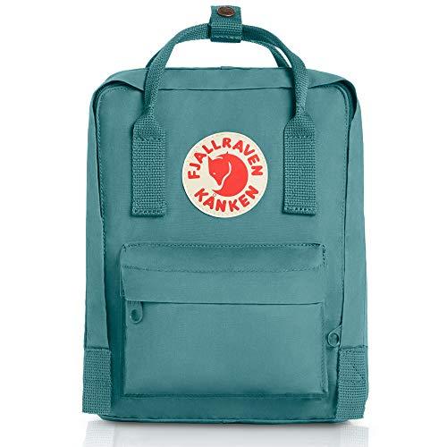 Fjallraven, Kanken Mini Classic Backpack for Everyday, Frost Green