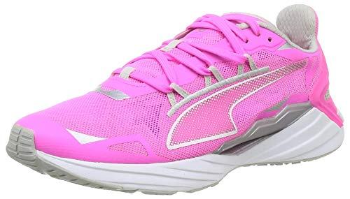 PUMA Ultraride Wn's, Zapatillas para Correr de Carretera Mujer, Rosa (Luminous Pink/Metallic Silver), 38 EU