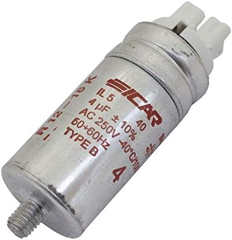 Anlaufkondensator Motorkondensator 7µf 280v 30x80mm Stecker 2 8x0 8mm Icar 7uf Beleuchtung