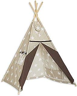 Rolig med mamma TEE-TEN-ELE-BRO Tipi tält - elegant brun