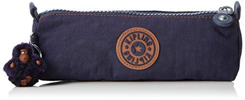 Kipling Freedom Trousses, 22 cm, 1 liters, Bleu (Blue Tan Block)