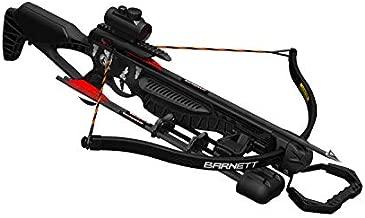 Barnett Blackcat Recurve Crossbow | Recurve Crossbow with Red Dot Sight, Arrows & Quiver| 260 Feet Per Second, Black Strike