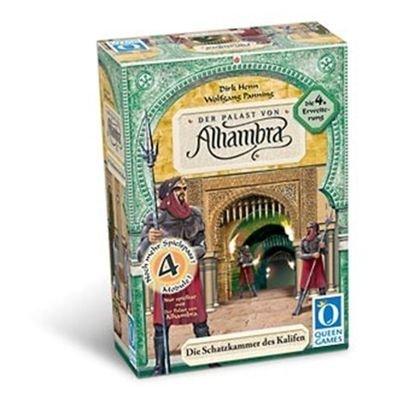 Queen Games 6033 - Der Palast von Alhambra - 4. Erweiterung: Die Schatzkammer des Kalifen