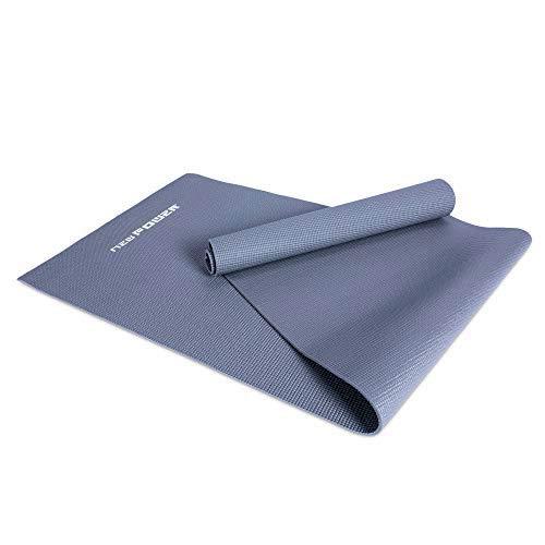 NEWPOWER - Esterilla Gimnasia de PVC (173x61cm), Antideslizante, Enrollable, Extra Gruesa...