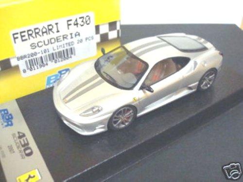 BBR 1/43 Ferrari F430 Scuderia Argento Limited 20 BBR200-100