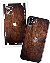 Wooden Film for iPhone 7 Plus, 8 Plus, X, XS Max, 11 Skin Wrap Protective Around Borders and Back Thin 3D Elegant Skin (iPhone 7 Plus)