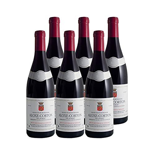Aloxe-Corton Les Morais Rouge 2019 - Domaine Machard de Gramont - Vin AOC Rouge de Bourgogne - Lot de 6x75cl - Cépage Pinot Noir