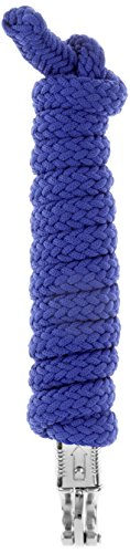 USG Führstrick, silberfarbene Beschläge, azurblau