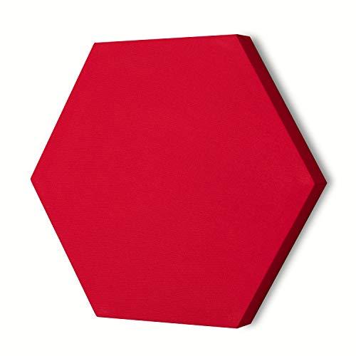 Pannello Fonoassorbente Flat Panel PAN XPS - Esagonale (Rosso)